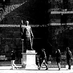 Rome - Imperator Nerva (pom.angers) Tags: panasonicdmctz30 rome roma imperator nerva lazio italia italy europeanunion sculpture statue people 100 february 2017 ancientrome