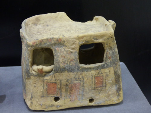 Saint Barnabas Monastery - museum - archaic pottery doll's house
