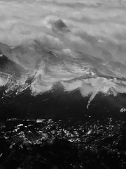 Arial Rocky Mountains NP (Frank Laurich) Tags: clouds arial mountains snow nationalpark colorado