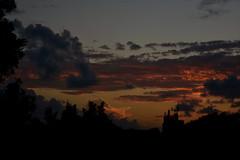 Twilight beckons (Dreaming of the Sea) Tags: nikon d7200 dusk sky clouds storm tamronsp2470mmf28divcusd tamron2470mm sunset goldenhour goldensunset palmtrees bluesky stars redsunset 2017 march bundaberg queensland australia twilight 1000v40f topf25 1500vv60f