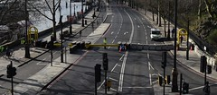 Embankment: Road Closed (rq uk) Tags: rquk nikon d750 london embankment stitched panoramic thepanoramafactory afsnikkor70200mmf28efledvr roadclosed road closed