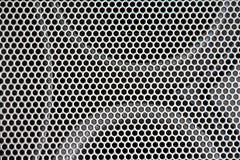 Made of metal - Macro Mondays  (Speakers) (BLEUnord) Tags: hmm macro monday mondays macromondays macrophotography macrophotographie photo metal madeofmetal hautpaarleurs speakers grille formes forms gris gray