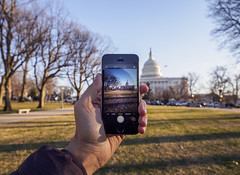 Capitol Hill, Washington DC by Sunset (ravi_pardesi) Tags: autmn bluesky capital capitolbuilding capitolhill city dc daylight digital districtofcolumbia dusk eastcoast evening phone political politics sunset sunshine washington winters usa