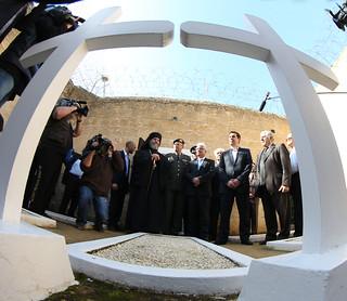Επίσκεψη Πρωθυπουργού της Ελλάδας κ. Αλέξη Τσίπρα στα Φυλακισμένα Μνήματα