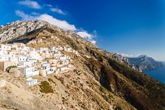 // Outer Olympos (Spiros Vathis) Tags: sky mountain fuji aegean greece velvia gr olympos karpathos egeo olimpos   olymbos scarpanto  aegiansea olimbos vsco    vscofilm