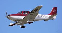 Cirrus SR-22 GTS G-KOCO Lee on Solent Airfield 2015 (SupaSmokey) Tags: lee solent cirrus airfield gts sr22 2015 gkoco