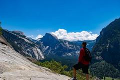 Majestic Yosemite (Casual Explorer) Tags: california hike yosemite dome half halfdome yosemitenationalpark