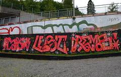 Nesttun Graffiti August 2015 (svennevenn) Tags: streetart graffiti lest gatekunst kapsh rems nesttun