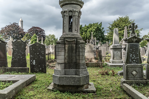 GLASNEVIN CEMETERY [MY FIRST DAY USING THE NEW SONY A7RMkII] REF-107412