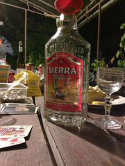 Tequila (iphoto.geri) Tags: wood party glass night garden table cards drink games tequila sierra alcohol cardgame