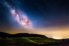 Milky way from Campo Imperatore (luigig75) Tags: longexposure nightphotography travel italy mountains night stars italia nightscape 1022 abruzzo stelle milkyway gransasso campoimperatore 70d efs1022mmf3545usm parconazionaledelgransassoemontidellalaga vialattea