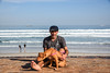 DSC_2696 (hugo.workandplay) Tags: sea dog guy beach mansbestfriend woodbridgeisland