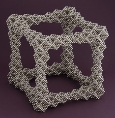 "Tapered Edge Cube Frame <a style=""margin-left:10px; font-size:0.8em;"" href=""http://www.flickr.com/photos/94129525@N07/21334052196/"" target=""_blank"">@flickr</a>"