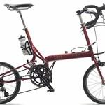 折畳み自転車の写真