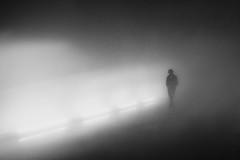 (Svein Skjåk Nordrum) Tags: light blackandwhite bw man dark noir darkness grain grainy nero momentum8