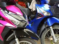 Thai bikes (kawabek) Tags: thailand bangkok motorcycle タイ オートバイ バイク バンコク ratchathewi thaibike chakkrawat タイバイク