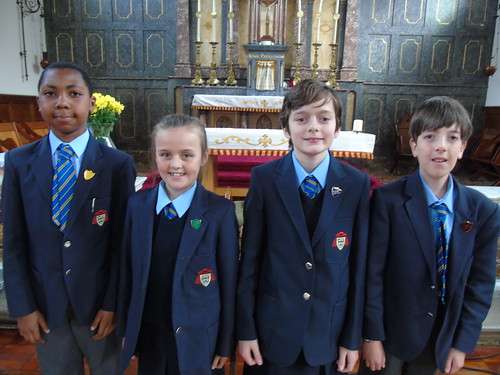 House Captains - Joel, Holly, Garance, Samuel