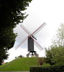 Mill in Bruges, Belgium