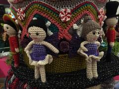 2015-10-06 21.06.47 (The Crochet Crowd) Tags: party crochet mikey exhibit yarn nutcracker artistry freeform caron simplysoft creativfestival yarnbomb crochetcrowd crochetnutcracker crochetstatue