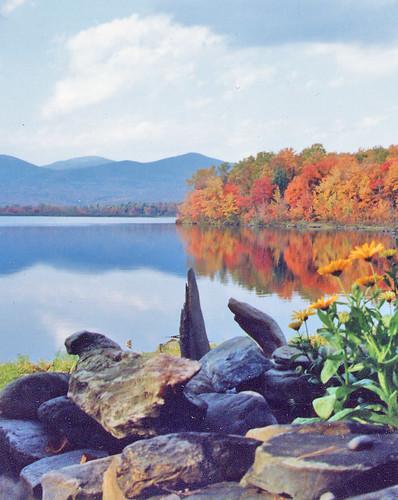 Silver Lake Autumn - R.E. Cyr