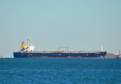 High Enterprise (jelpics) Tags: ocean sea boston port harbor boat ship massachusetts vessel anchorage anchor bostonma tanker bostonharbor merchantship highenterprise