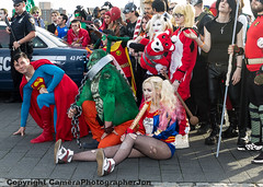 MCM CC OCT 2015 (196) (cameraview4u121) Tags: uk people game robin canon pose lens dc costume cosplay makeup superman event entertainment fantasy superhero scifi characters entertainer cosplayer popculture tamron comiccon fancydress harleyquinn excel mcm suicidesquad mcmexpo dcgroup mcmlondon mcmcomiccon londoncomicconoct2015 mcmexcel