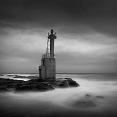 * Light my Way * (^soulfly) Tags: longexposure blackandwhite lighthouse monochrome japan pacificocean oarai bwfilter ef1740mmf40l nd110 ibarakiprefecture canon5dm2