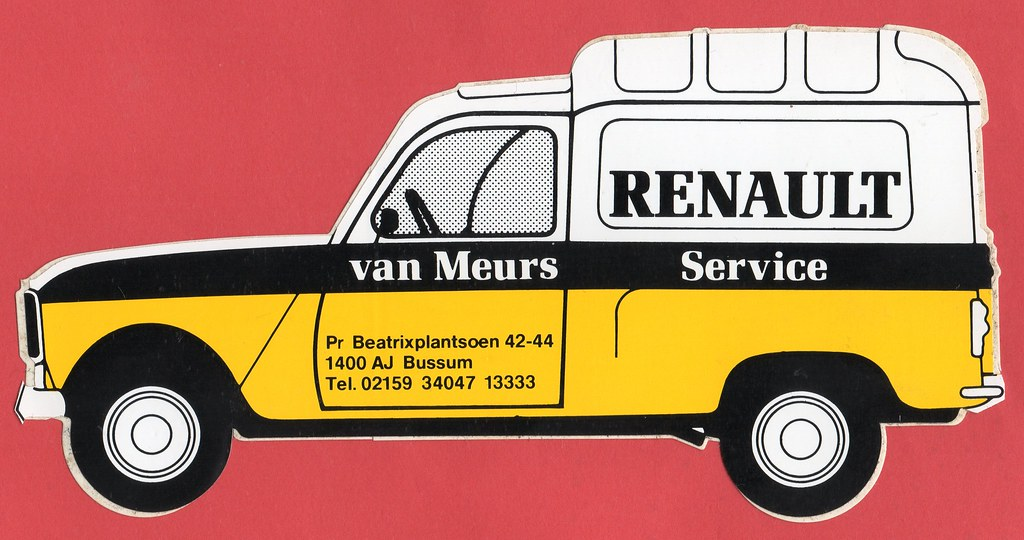 The world 39 s best photos of renault and sticker flickr for Renault service garage