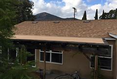 """Desert Tan"" Shingles (tmvissers) Tags: new roof 30 sandiego shingles attic udl titanium synthetic vents roofing corning ventilation owens duration underlayment logsdon deserttan ohagin"