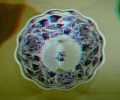 Delftware 3D (wim hoppenbrouwers) Tags: delftware 3d anaglyph stereo redcyan deporceleynefles delft