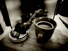 Morning pipe and coffee (hunter_185) Tags: tobaccopipe pipesmoking coffee