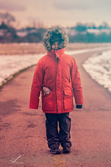 Winter Time (Zouhair Lhaloui) Tags: winter wintertime cold wind snow children kids faces portrait portraiture zouhairlhaloui zlphotography 2016 nikond810 rokinon85mmf14 photoshot clouds sky sloudy windy