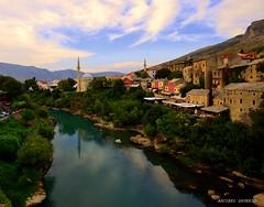 Mostar (Arcieri Saverio) Tags: mostar landscapes acqua fiume paesaggio bosnia nikon d5100 croazia paesaggi nikkor