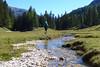 ruscello in Val Salati (Tabboz) Tags: montagna trekking escursione cammino acqua cielo cima sentiero valle erba pini natura panorama vetta estate dolomiti parco salita traversata
