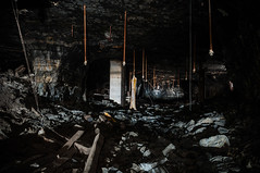 inside an abandoned coal mine (Sam Scholes) Tags: urbex hiawatha abandoned mining coal industrial industrialdecay mine kingcoal urbandecay utah coalmine urbanexploration ruraldecay