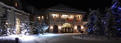Entrance to Chateau Lake Louise (Jeff Goddard 32) Tags: canada canadianrockies banffnationalpark alberta winter december