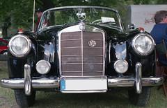Mercedes-Benz 220 S Cabriolet W 180 II - analog (Cosimo Damiano Mancini) Tags: mercedesbenz 220 s cabriolet w 180 ii mercedesbenz220scabrioletw180ii mercedes benz oldtimer oldtimertreffen treffen winsenluhe winsen luhe 2016 minolta x700 minoltax700 analog norddeutschland niedersachsen worldcars