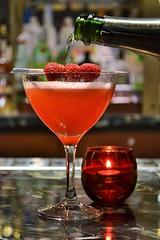 Ruby Kiss (KaDeWeGirl) Tags: newyorkcity manhattan midtown tavernon51 lotte newyorkpalace rubykiss cocktail red raspberries explore