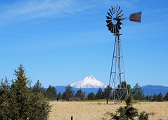 View of Mount Hood from Maupin_Karen Forrest (OregonDOT) Tags: oregondot oregon scenicoregon scenic mounthood