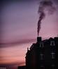 When it's cold outside! I (quentin.spitaels) Tags: fumée smoke ciel sky matin hiver mauve froid morning cold purple sunrise fujixt1 fujifilm fuji belgique belgium wallonie namur city