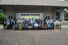 Group photo: ACAI Workshop participants (IITA Image Library) Tags: cassava manihotesculenta acaiproject agronomy iita