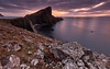 Sunset at Neist Point - Skye (Bill Higham) Tags: neist point uk skye scotland coast coastline lighthouse sunset dusk landscape sky cliffs