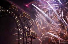 to never look back (cherryspicks (on/off)) Tags: newyear fireworks night vienna prater ferriswheel celebration festive