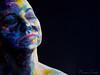 naomi170108-237-Edit (Naomi Creek) Tags: portrait selfportrait selfdiscovery paint face artistic artist painted painting texture female colour light dramatic color girl art canvas