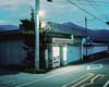 Fujiyoshida (lukepownall) Tags: 東京 tokyo japan fuji fujiyoshida mamiya7 mediumformat night longexposure