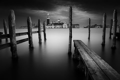 Venice (Billy Currie) Tags: venice san giorgio maggiore italy posts long exposure board lagoon marco st marks square plaza