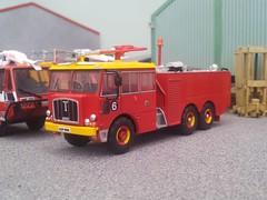 Nubian Major (quicksilver coaches) Tags: thornycroft nubian fireappliance fireengine oxforddiecast 176 oo diecast model