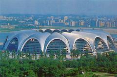 Rungrado 1st of May Stadium (Tom Peddle) Tags: dprk north korea korean northkorea northkorean postcards tourism photos buildings socialist rungrado 1st may stadium rungrado1stofmaystadium