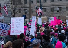 Womens March DC-20170121-TW Meetup _ 20170121 _ KMB_0416 (kevinbarry7) Tags: womensmarch washington dc feminism dump trump protest capital resist mall pence devos love trumps hate