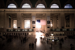 Grand Central (Southern Light) (RBudhu) Tags: bw dramatic fuji grandcentralterminal light longexposure newyorkcity ryanbudhu subway